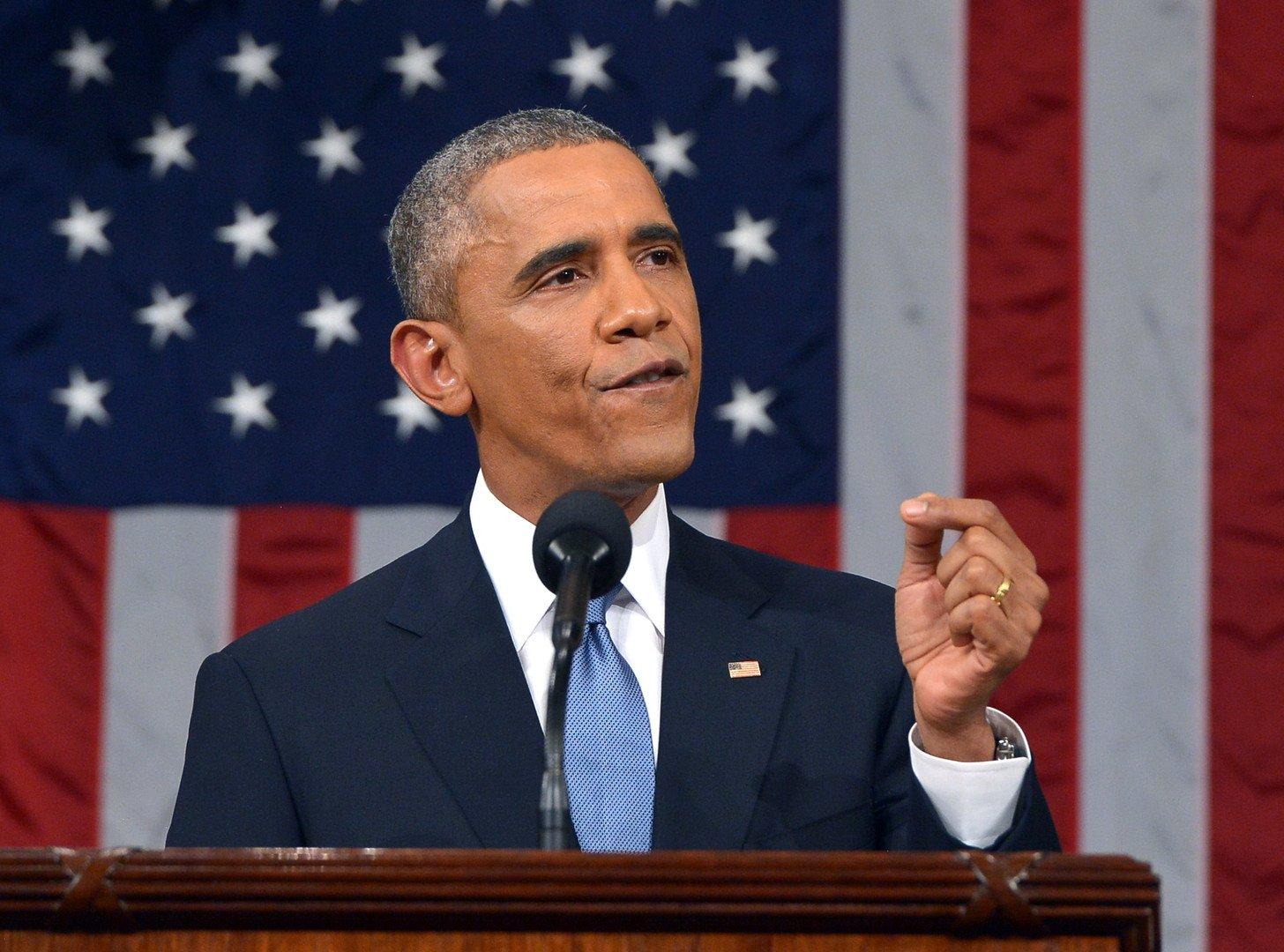Le discours de Barak Obama sur l'état de l'Union le 20 janvier 2015. ( REUTERS/Mandel Ngan)