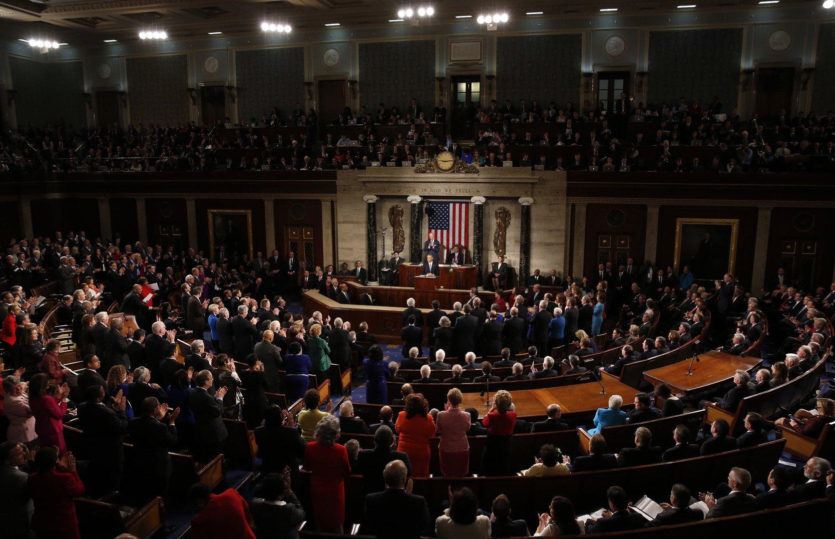 Le discours de Barak Obama sur l'état de l'Union le 20 janvier 2015. ( REUTERS/Larry Downing)