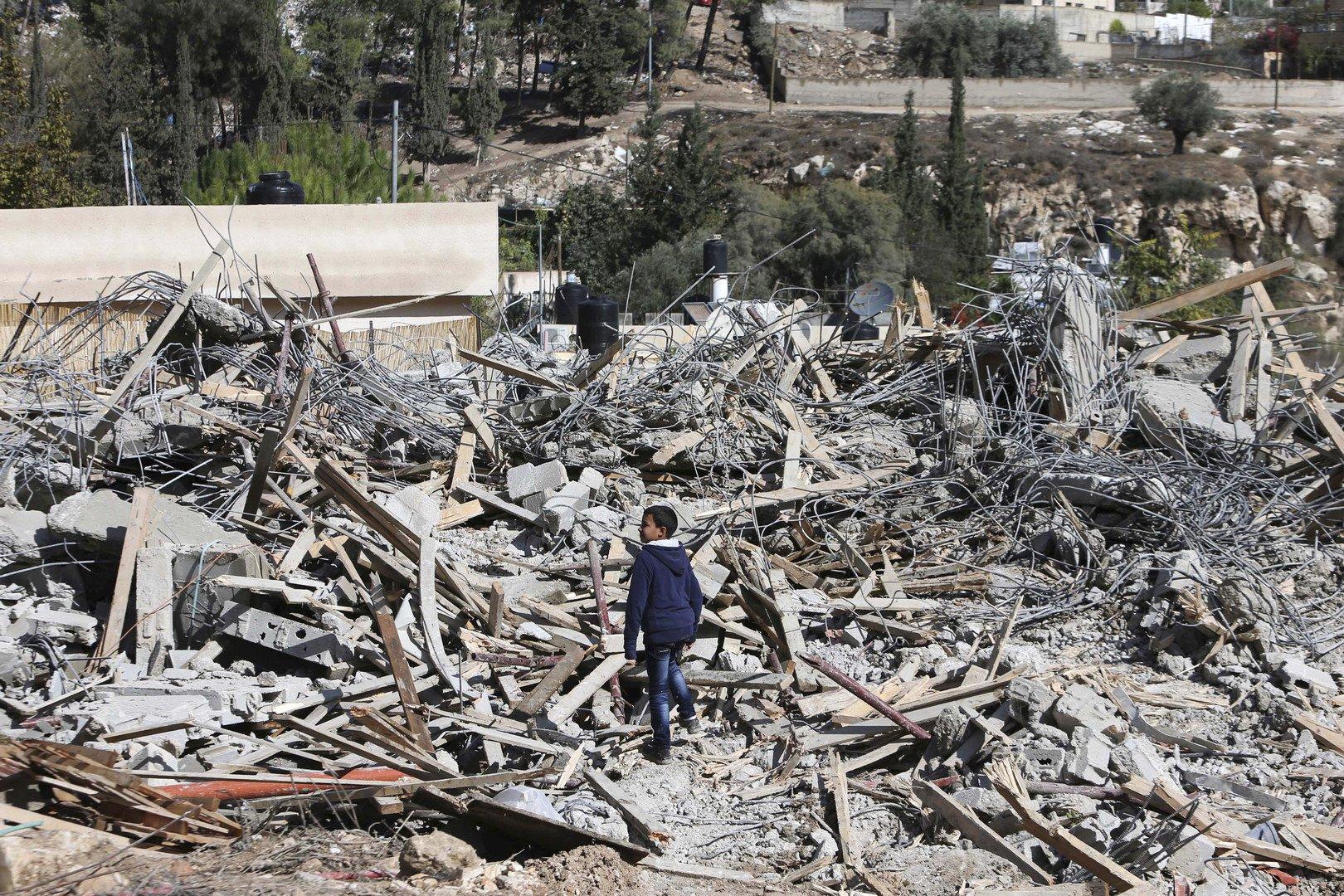 Démolition de logements palestiniens : des dizaines d'enfants privés de toît d'après l'ONU