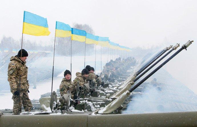 Kiev dispose de troupes prêtes à tirer sur les hommes qui refuseraient de combattre