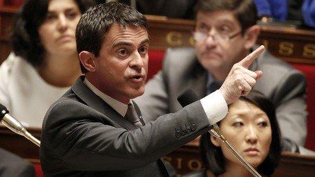 Premier ministre français, Manuel Valls (REUTERS/Charles Platiau)