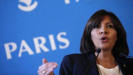 La maire de Paris Anne Hidalgo. (REUTERS/Christian Hartmann)