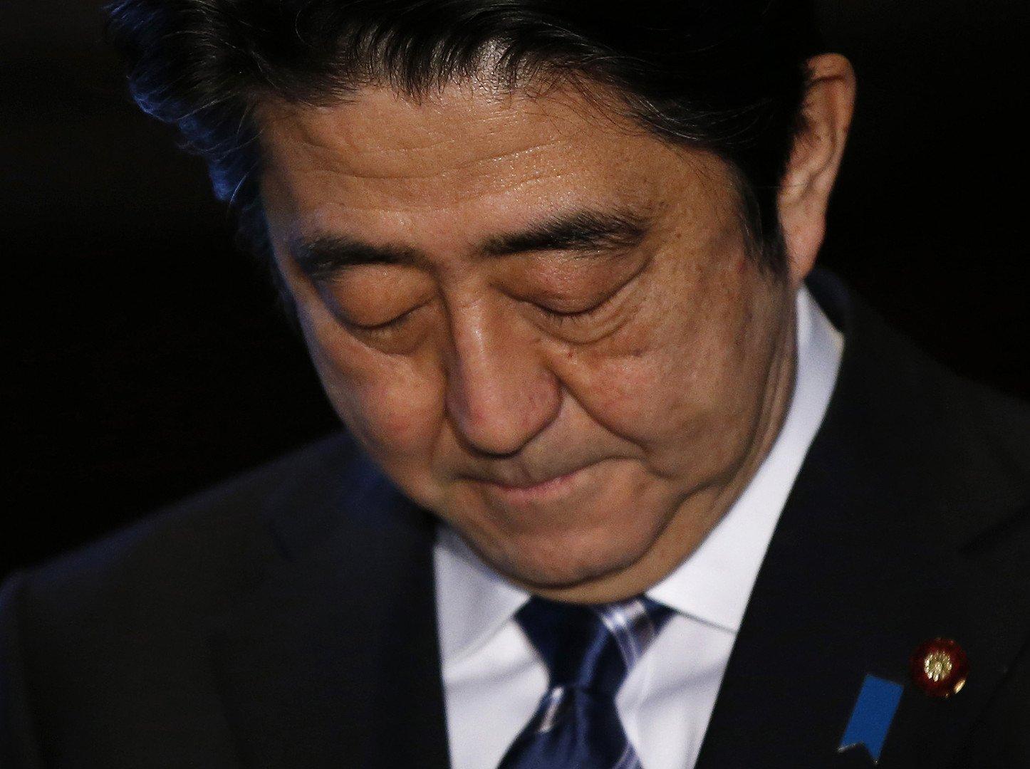 Le premier-ministre japonais Shinzo Abe. ( REUTERS/Toru Hanai )