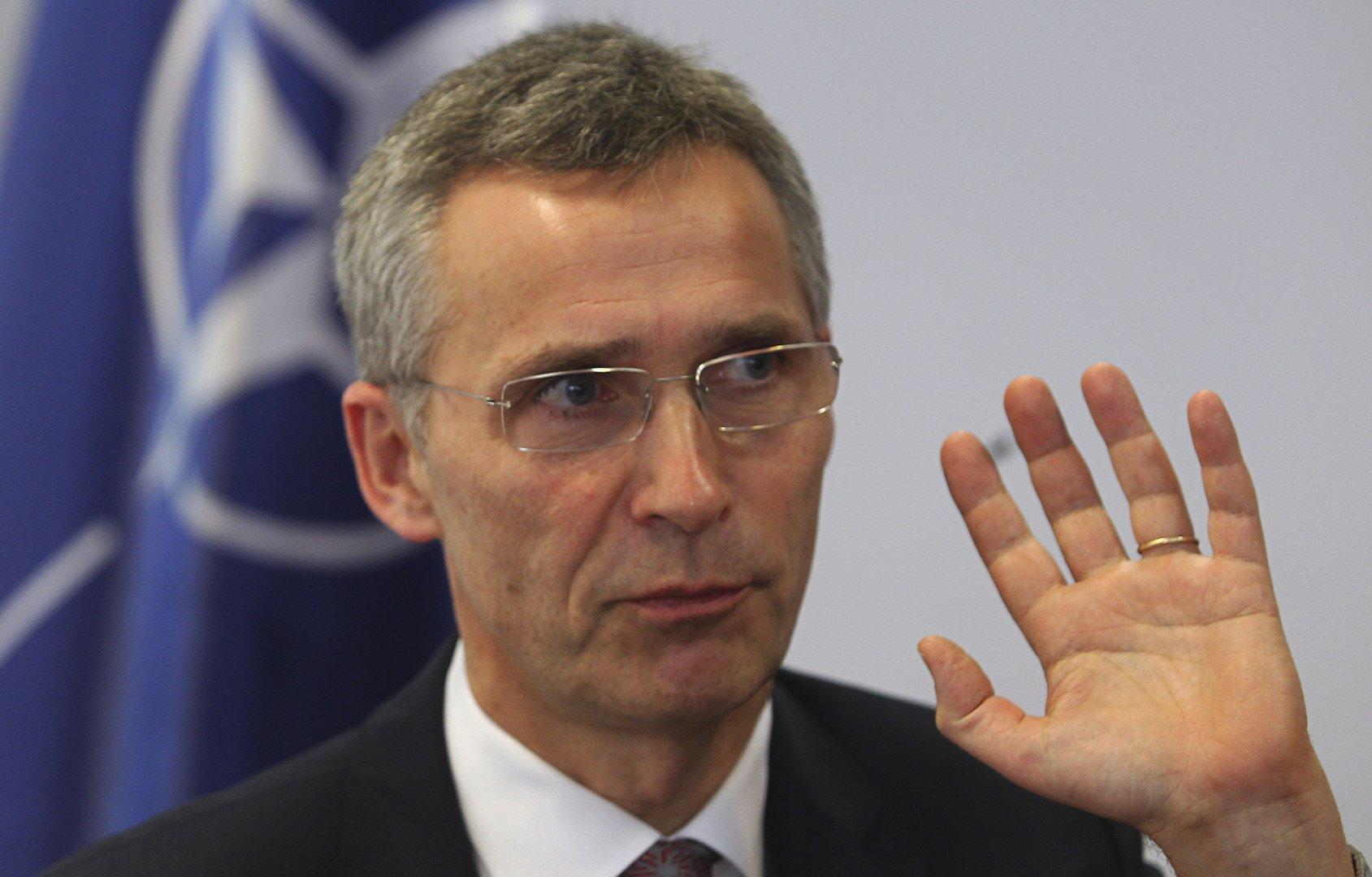 Le nouveau secrétaire général de l'OTAN, Jens Stoltenberg.