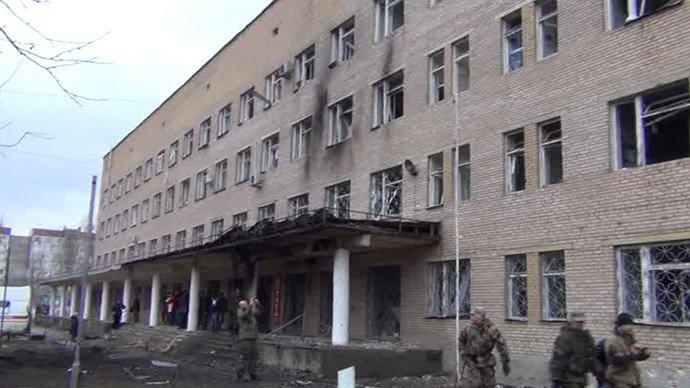 Ukraine : un hôpital bombardé à Donetsk, plusieurs victimes sont à déplorer (VIDEO)