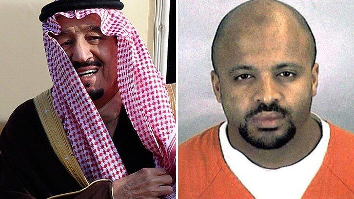 Le prince Salman bin Abdul Aziz al-Saud et Zacarias Moussaoui. (Reuters)