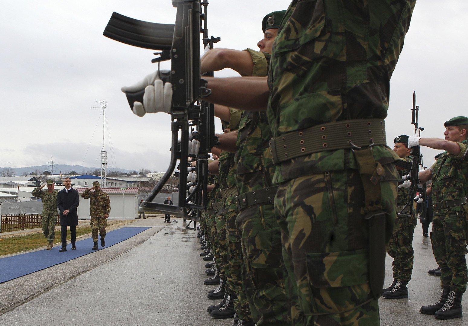 Europe de l'Est : l'OTAN déploie 30 000 hommes dont 5 000 en tant que force de réaction rapide
