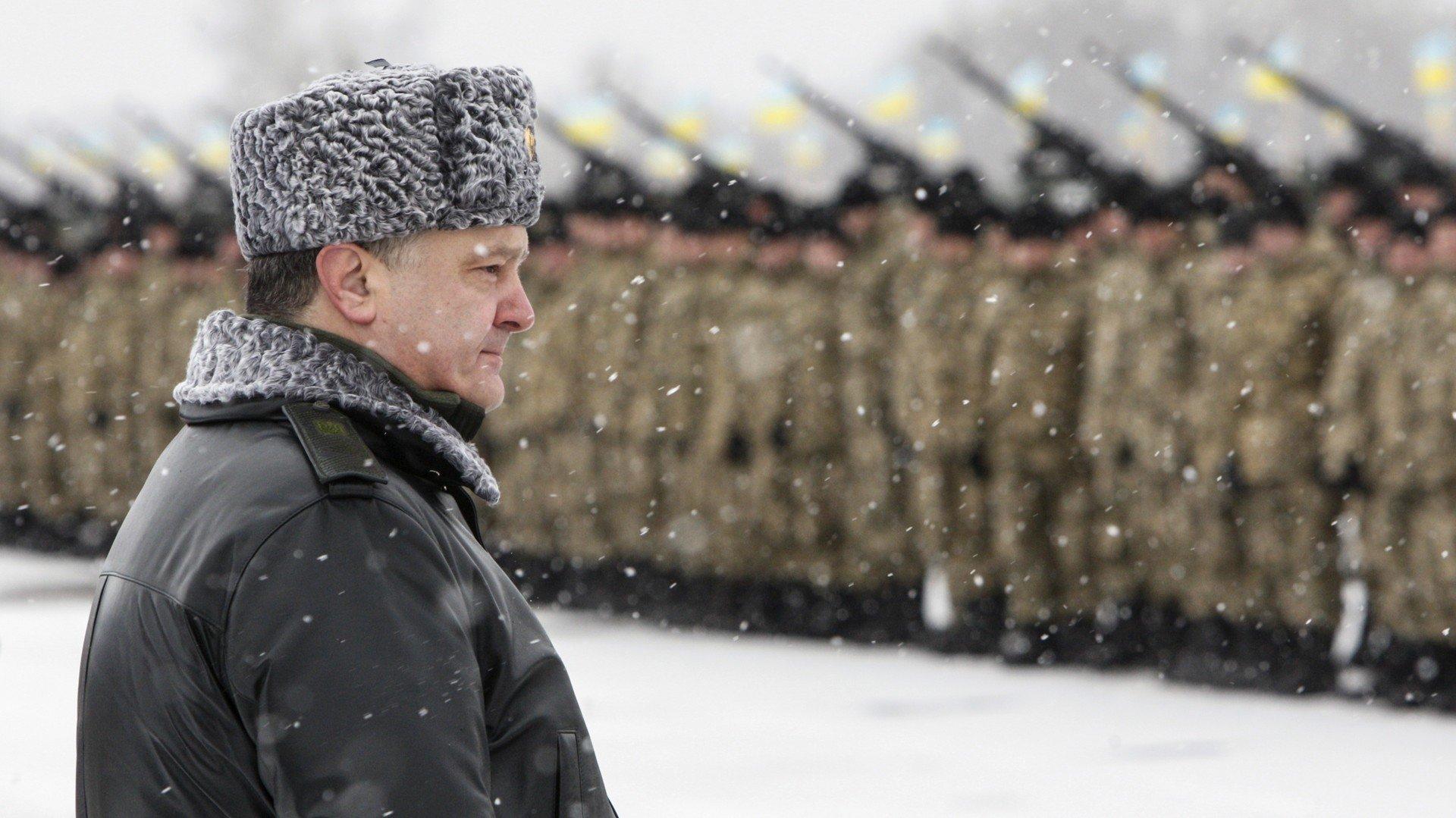 Le Parlement ukrainien autorise à tirer sur les déserteurs