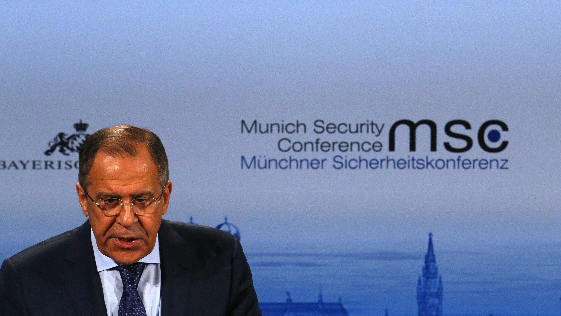Le ministre russe des Affaires étrangères Sergueï Lavrov.
