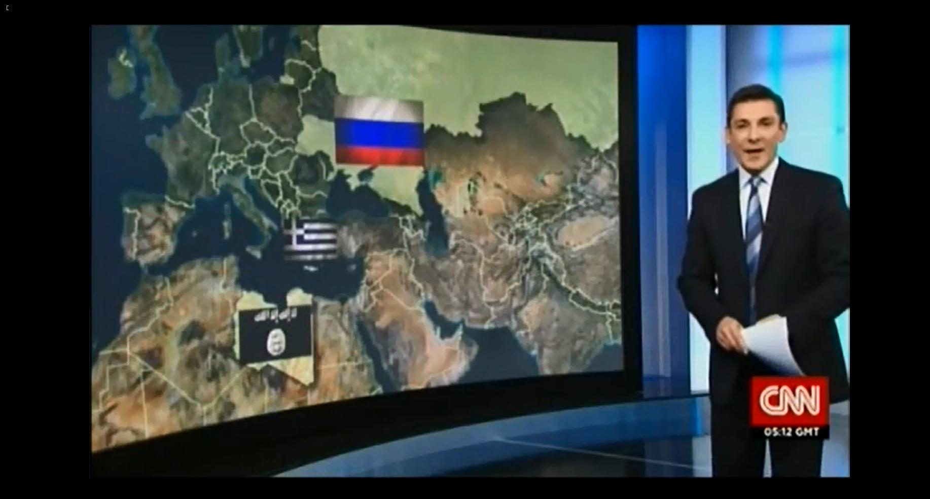 On dirait que CNN a rattaché l'Ukraine à la Russie