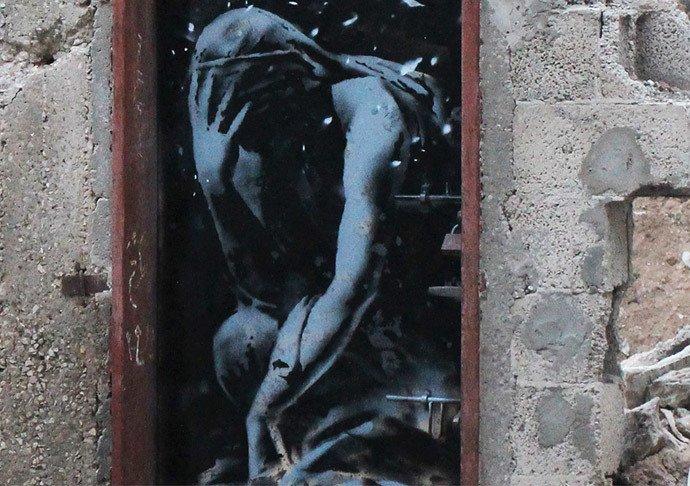 Banksy à Gaza : des images troublantes sur les stigmates de la guerre (VIDEO)
