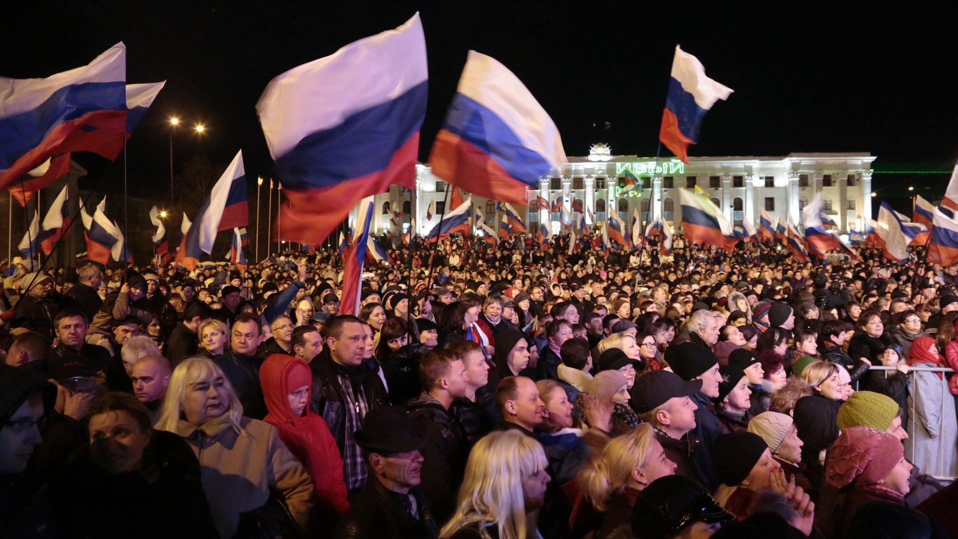 Poutine : la Russie n'a pas pu laisser la Crimée et ses habitants aux mains nationalistes (VIDEO)