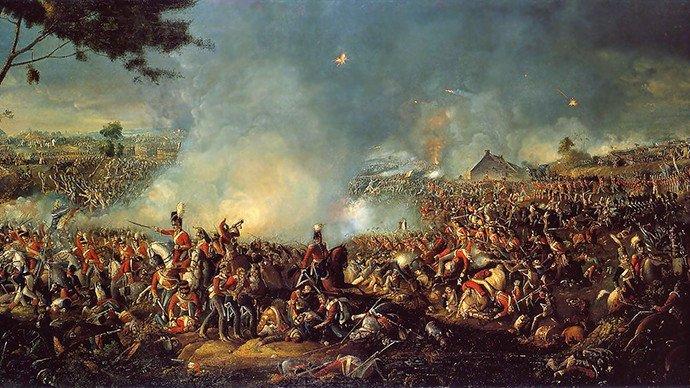 La bataille de Waterloo, 1815 (Source: wikipedia.org)