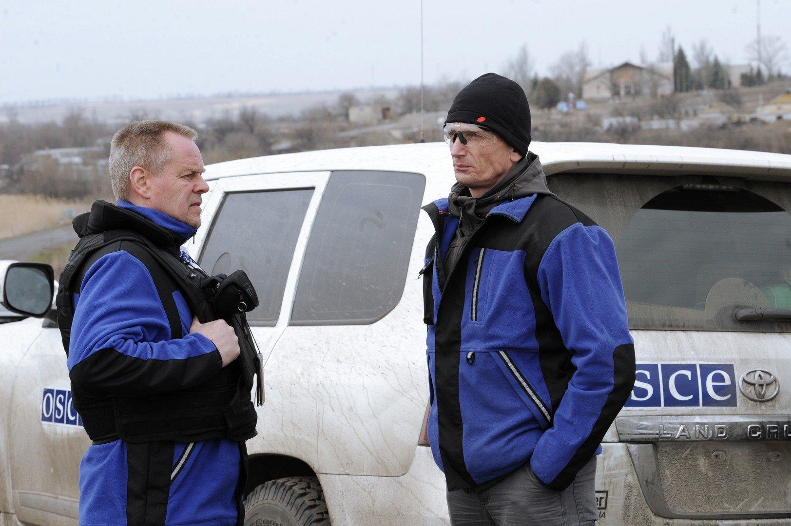 Les répresentants de la mission de l'OSCE