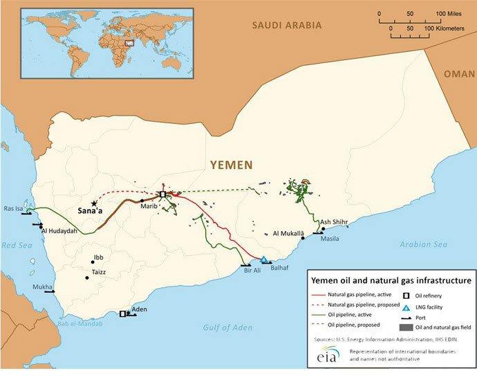 L'opération saoudienne au Yémen fait grimper le prix du baril de 6%