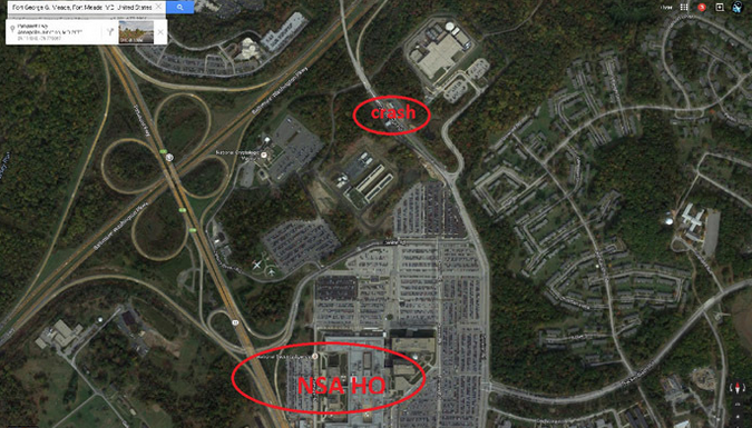 Capture d'écran de Google Maps