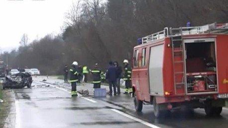 Nucléaire : un camion transportant des substances radioactives en Bosnie sort de la route (VIDEO)