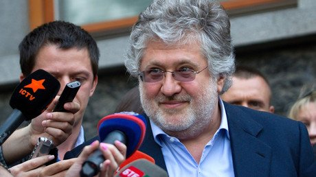 Igor Kolomoïski répond aux questions de journalistes