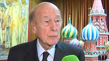 Valéry Giscard d'Estaing, ancien Président de la République française