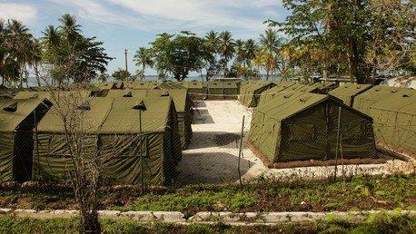 Les centre pour demandeurs d'asile dans l'île de Manus