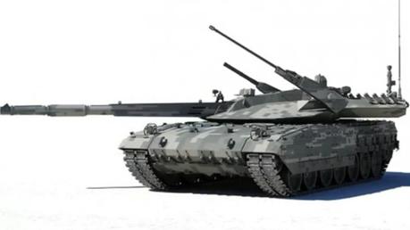 Le char Armata (Capture d'écran d'une vidéo de Youtube)