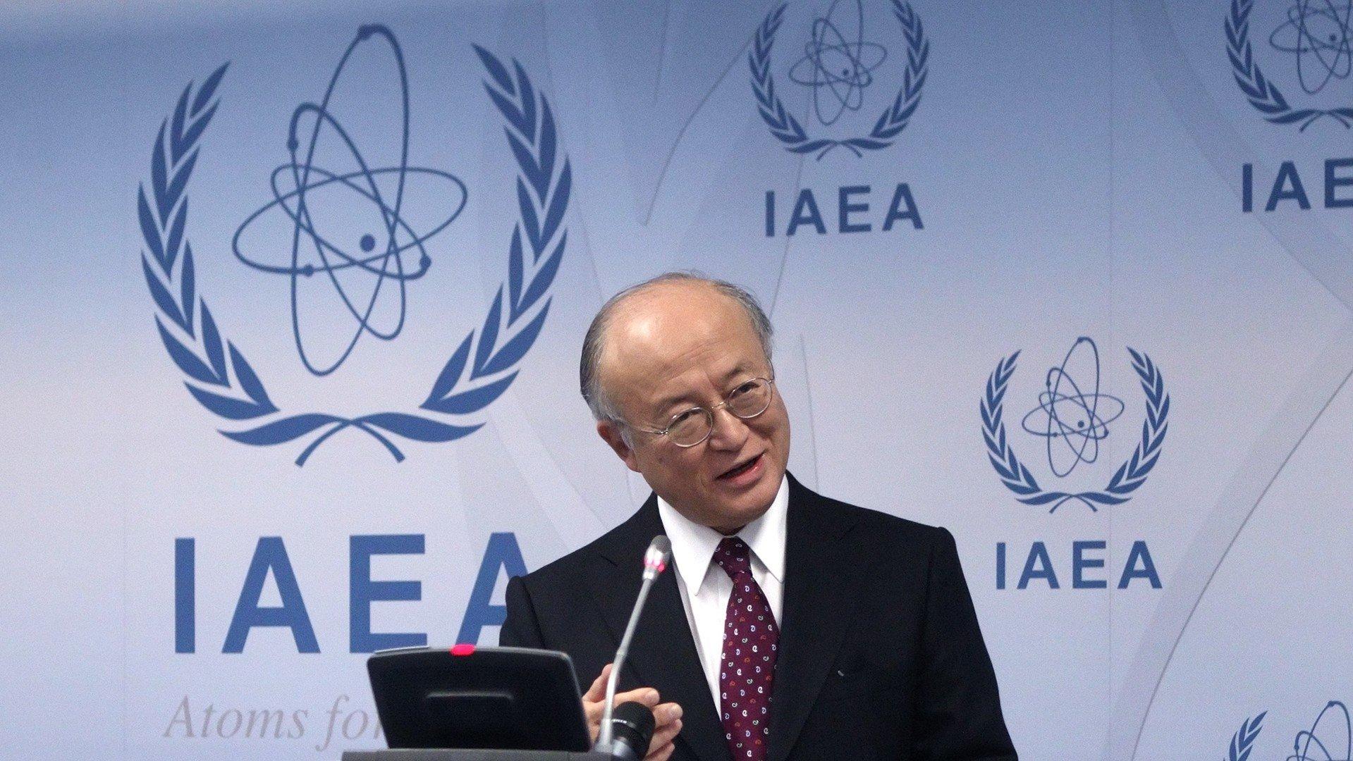 Le chef de l'AIEA Yukiya Amano