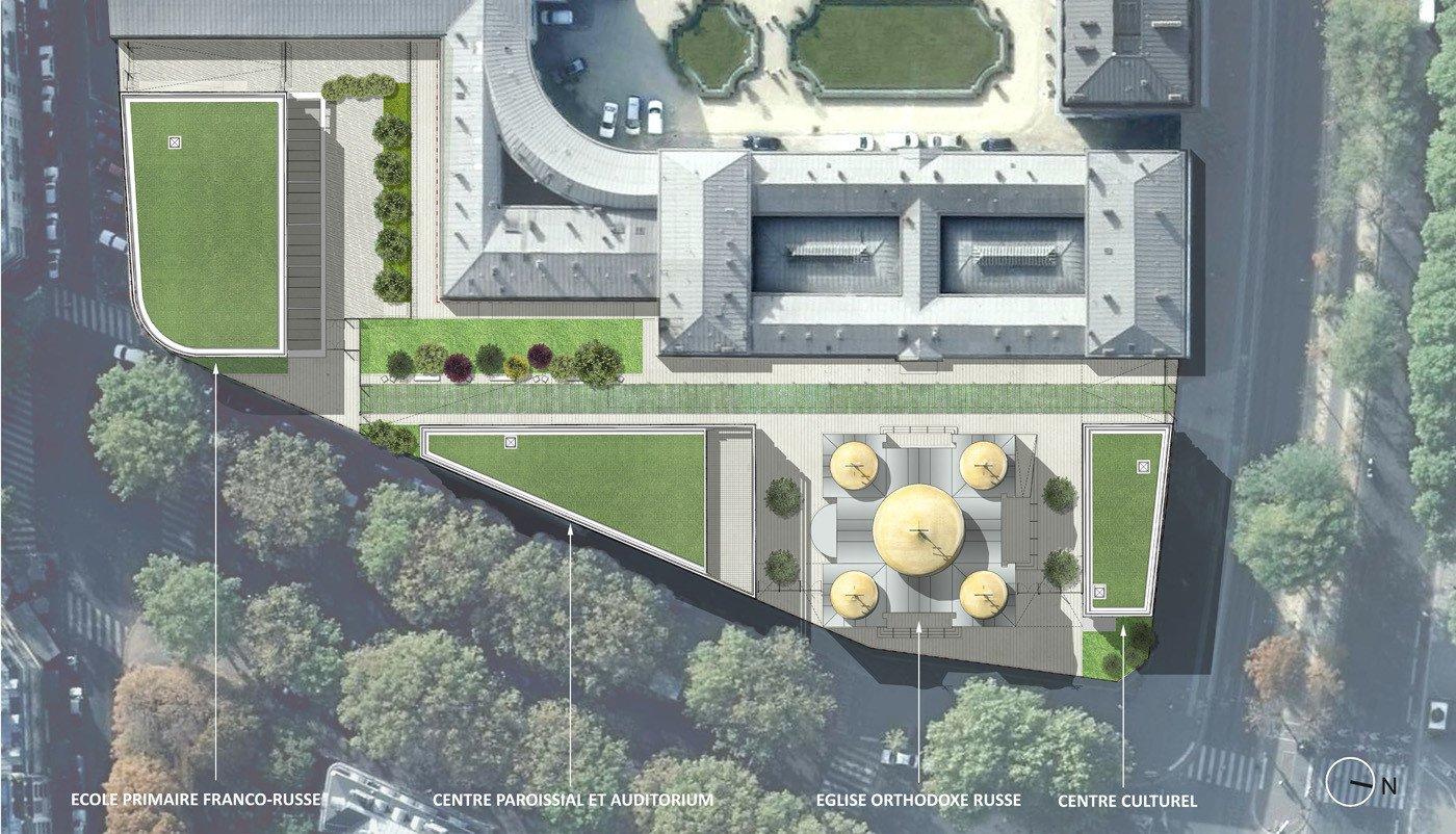 Paris disposera bientôt d'un nouveau centre religieux et culturel russe