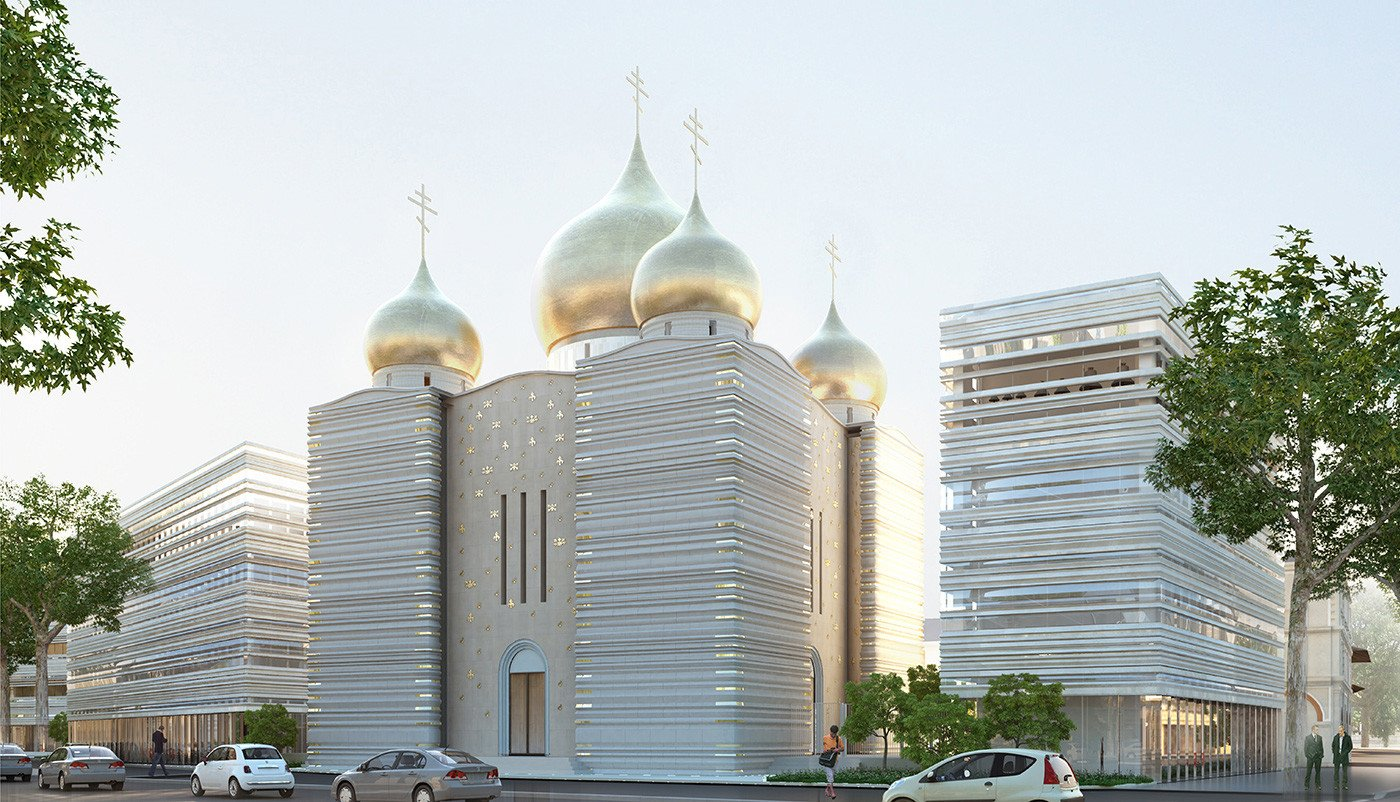 Le projet du centre religieux et culturel russe à Paris