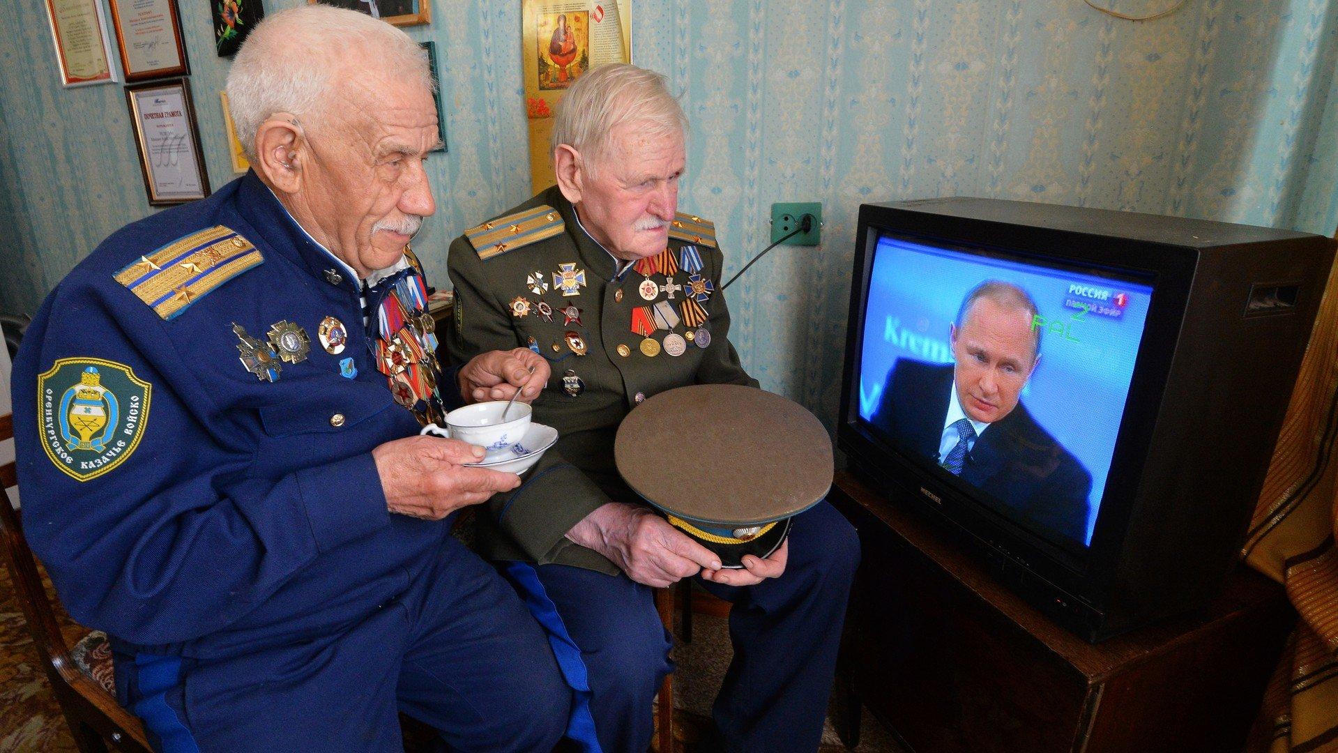 Des anciens combattants de la Seconde Guerre mondiale