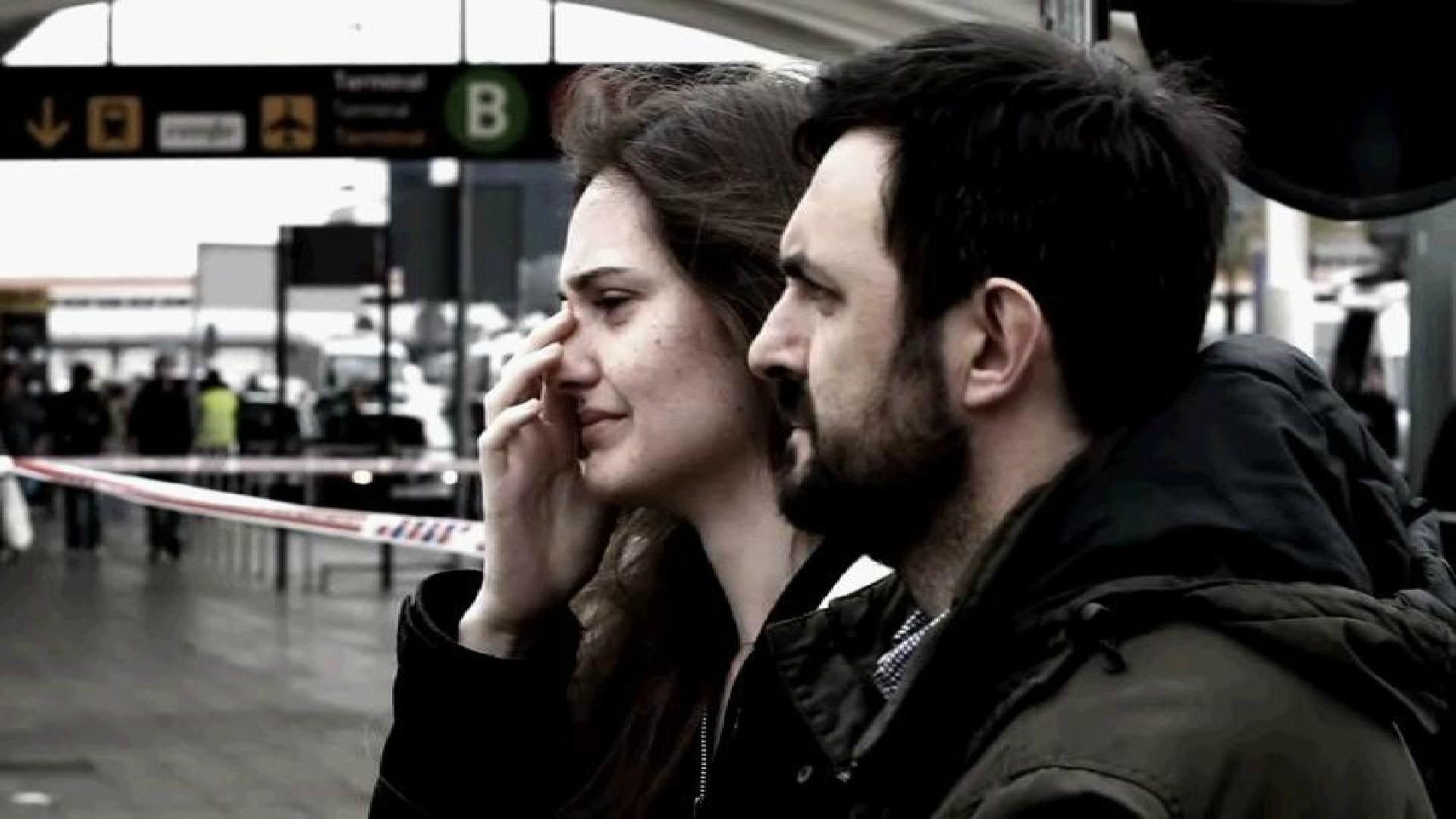 Des proches pleurent les victimes dans le crash du vol Germanwings