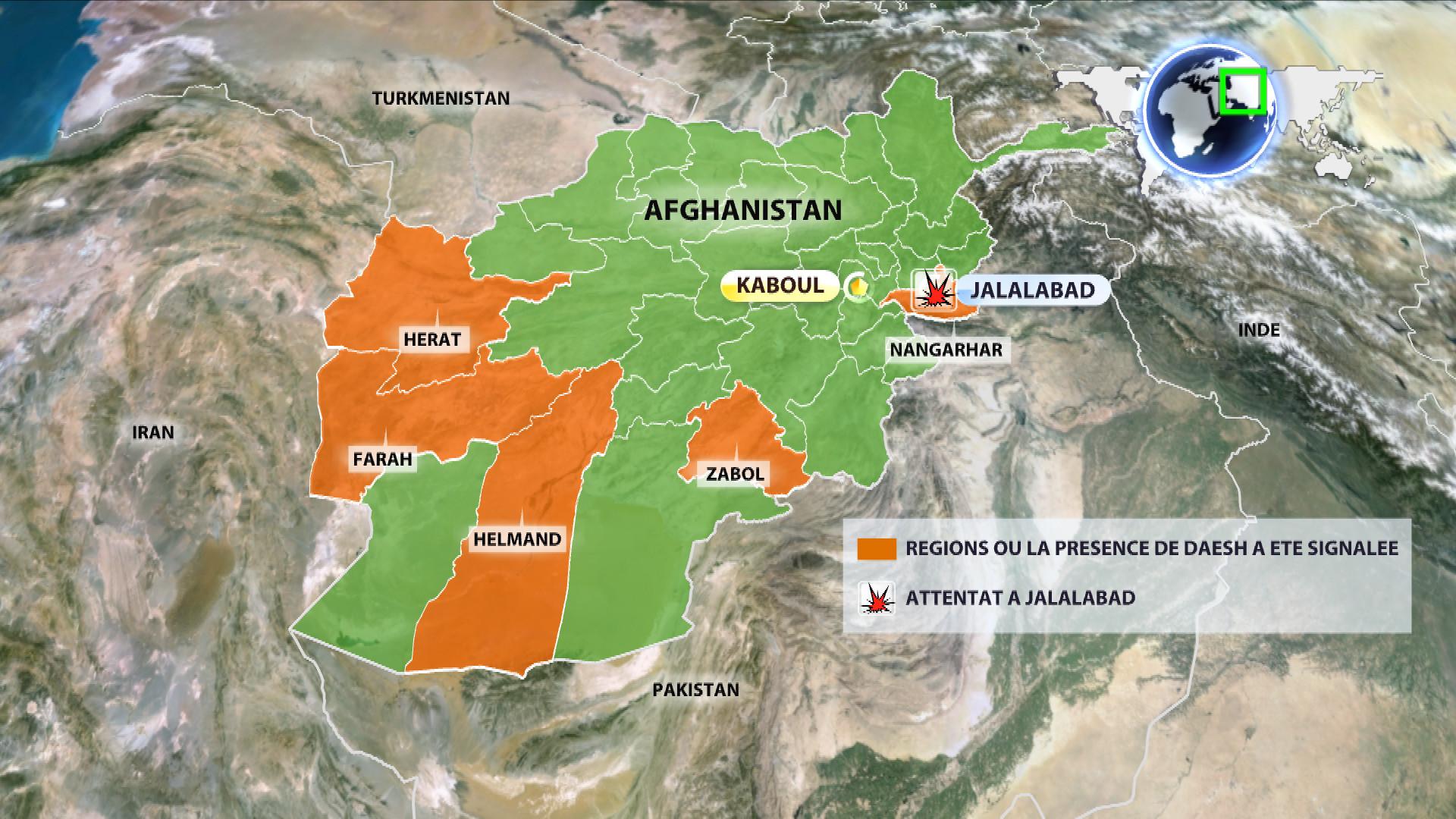 La présence de Daesh en Afghanistan