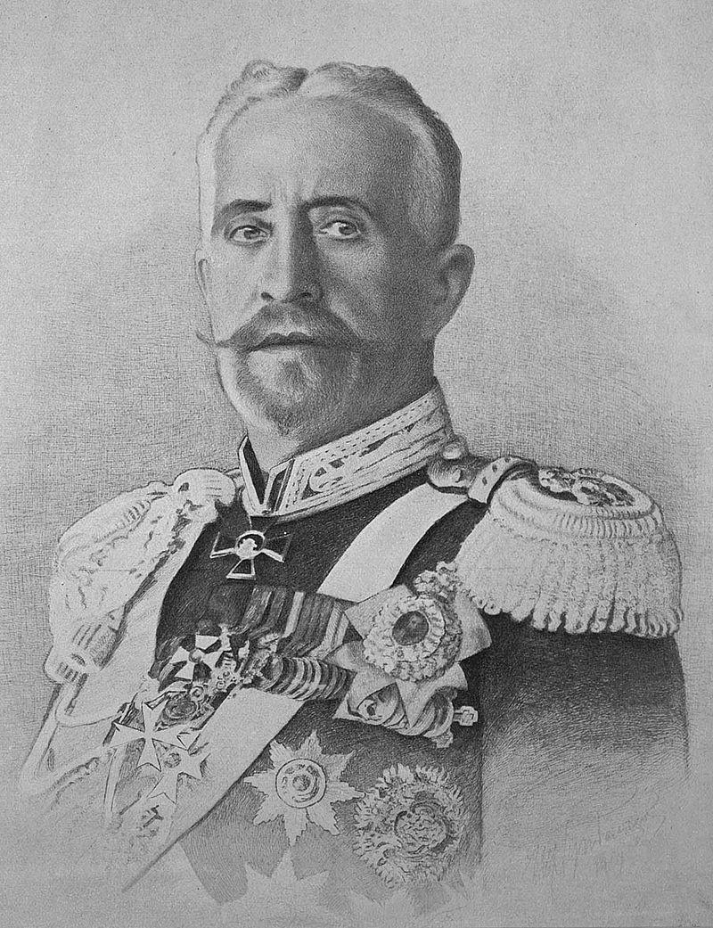 Le grand-duc russe Nicolas Nicolaïevich