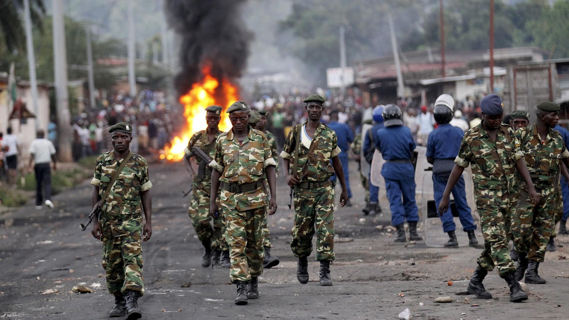 Des émeutes à Bujumbura