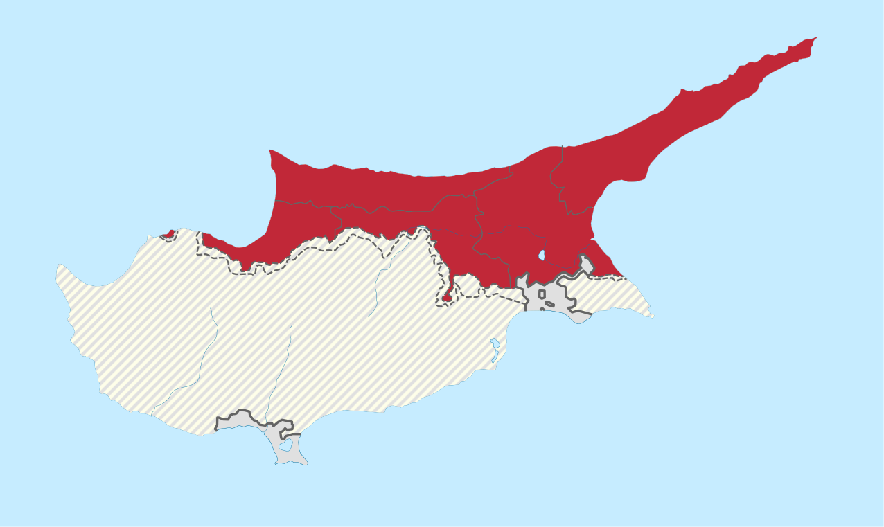 Une île, deux Etats : Chypre et la Turquie se disputent l'île depuis 1974