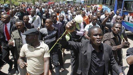Attentat de Garissa : des manifestants dénoncent la réponse tardive des forces de l'ordre