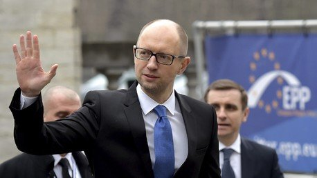 Arseni Iatseniouk, premier ministre ukrainien