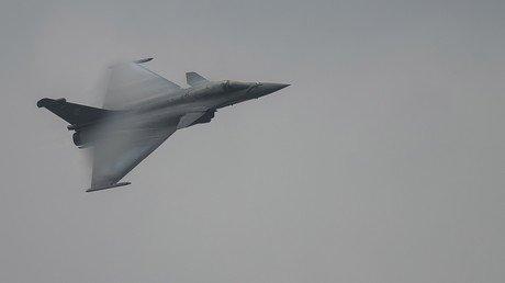 Un avion de chasse français Rafale