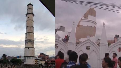 «Avant» et «Après» : images sur l'ampleur des dégâts au Népal