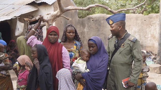 REUTERS/l'arùée nigérienne