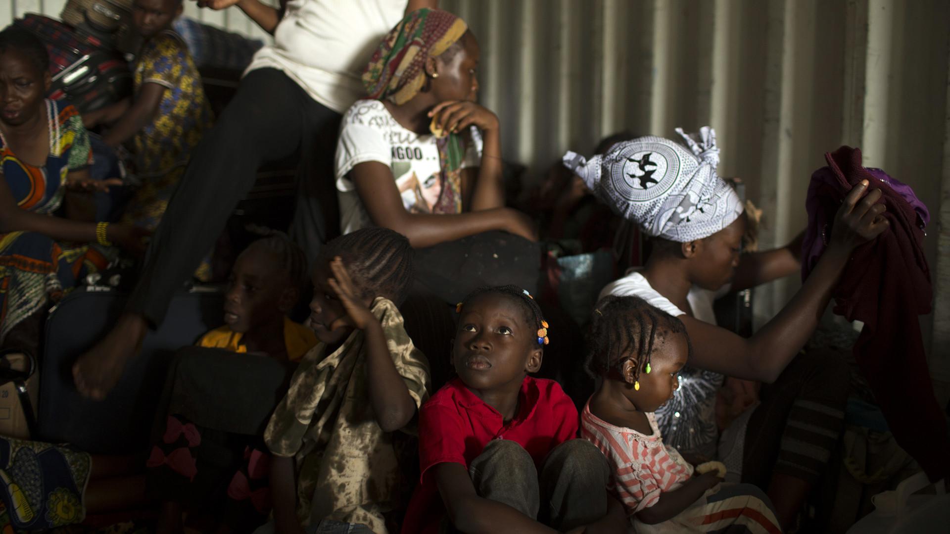 Les enfants en Centrafrique
