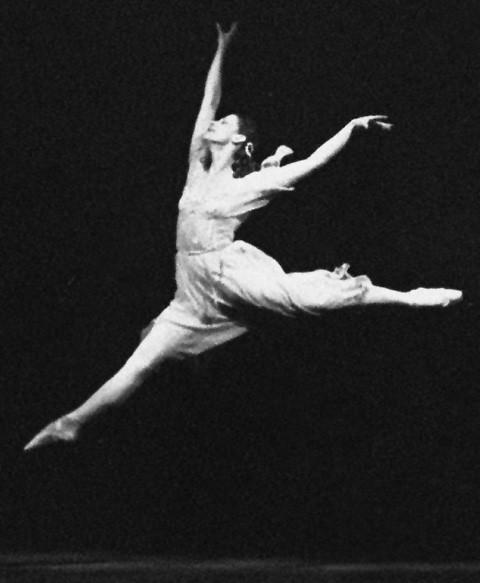 Maïa  Plissetskaïa  dans le ballet Roméo et Juliette de Sergueï Prokofyev / source : wikipedia