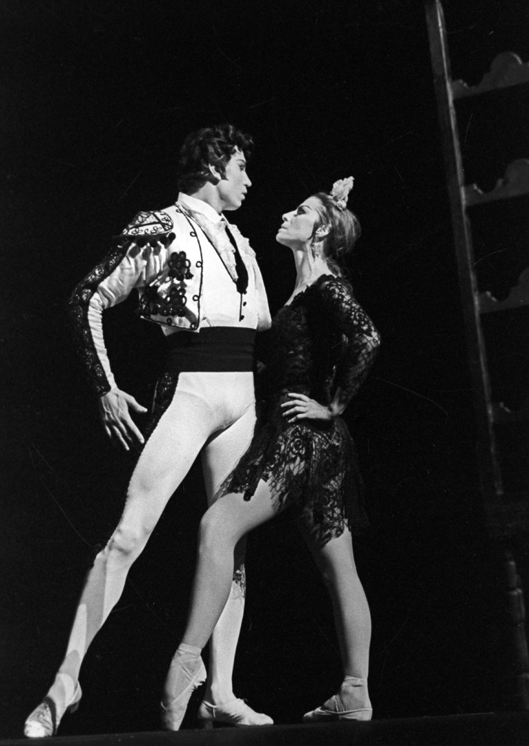 Maïa Plissetskaïa et Sergueï Radchenko dans Carmen Suite