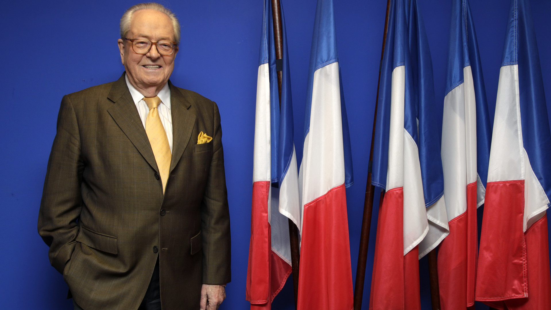 Jean-Marie Le Pen suspendu du Front national