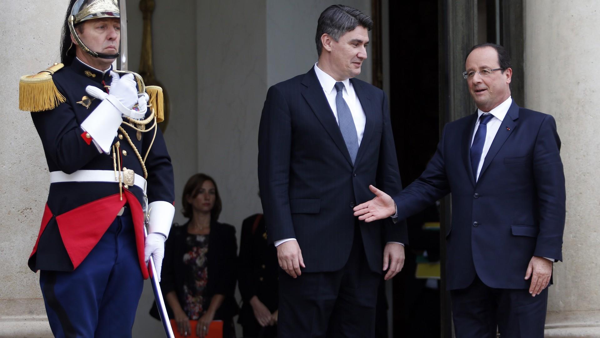 François Hollande dans tous ses états