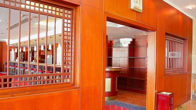 L'Hôtel de Ninawa International à Mossoul