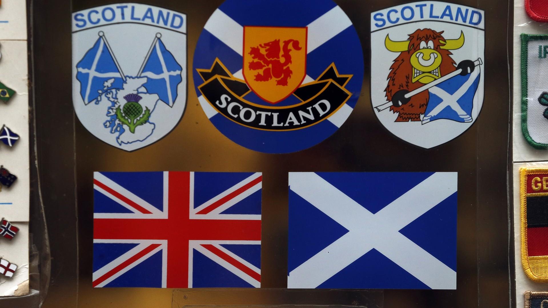 Les drapeaux des pays du Royaume-Uni