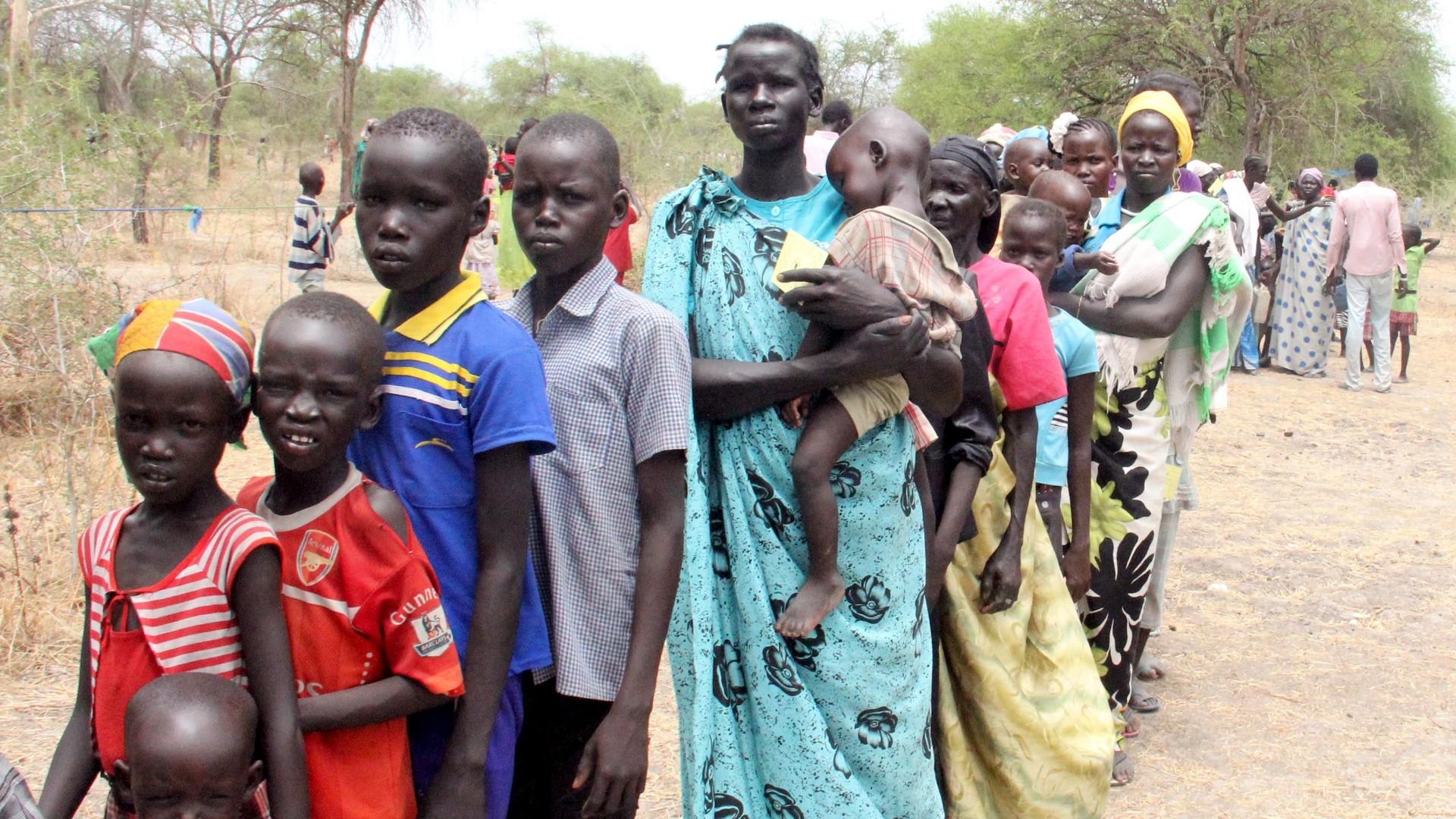 """Résultat de recherche d'images pour """"Sud-Soudan, guerre, exode, famine, sud soudan, visa"""""""