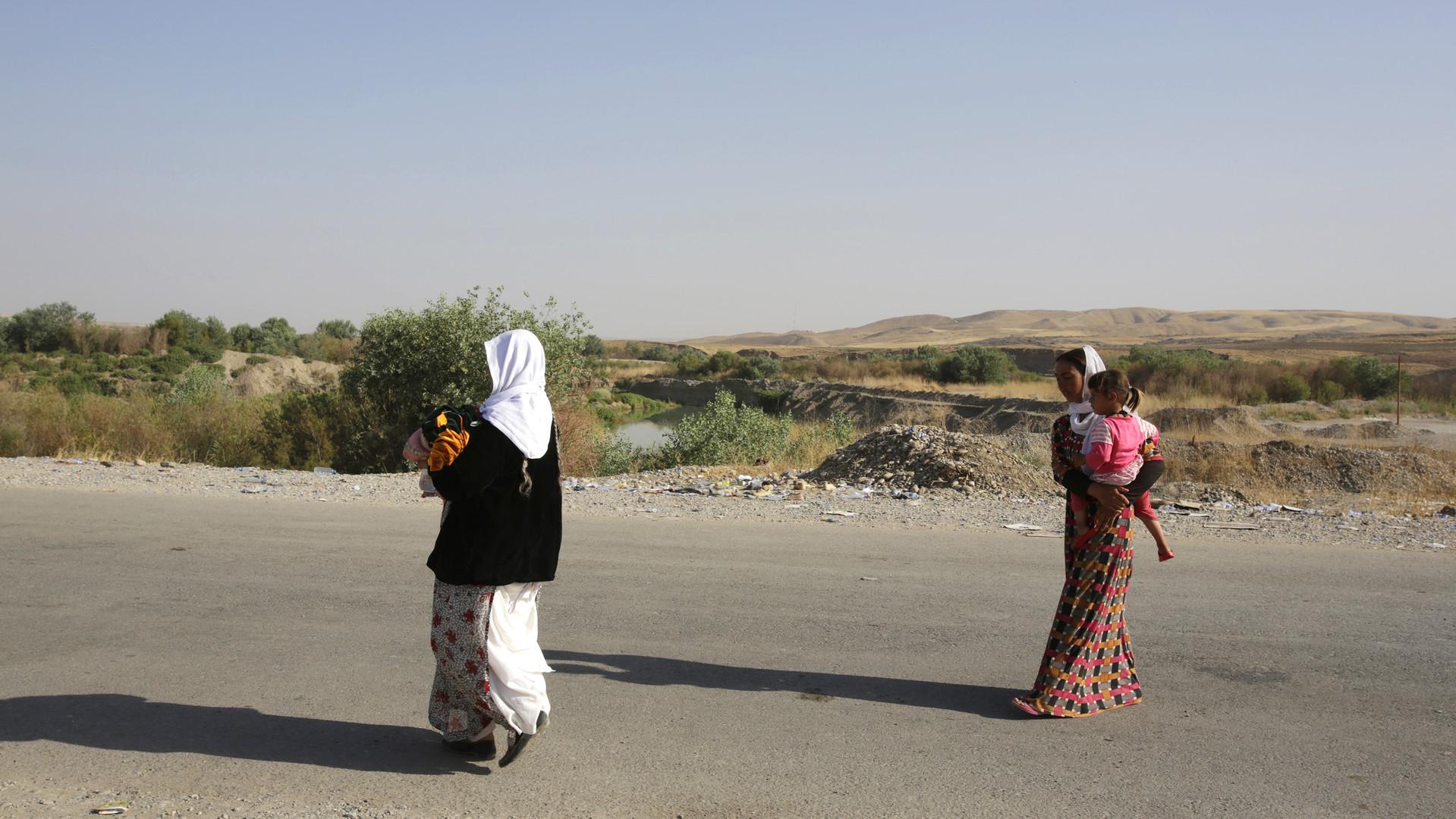 Les femmes de la minorité de Yazidi qui ont survécu la violence de Daesh