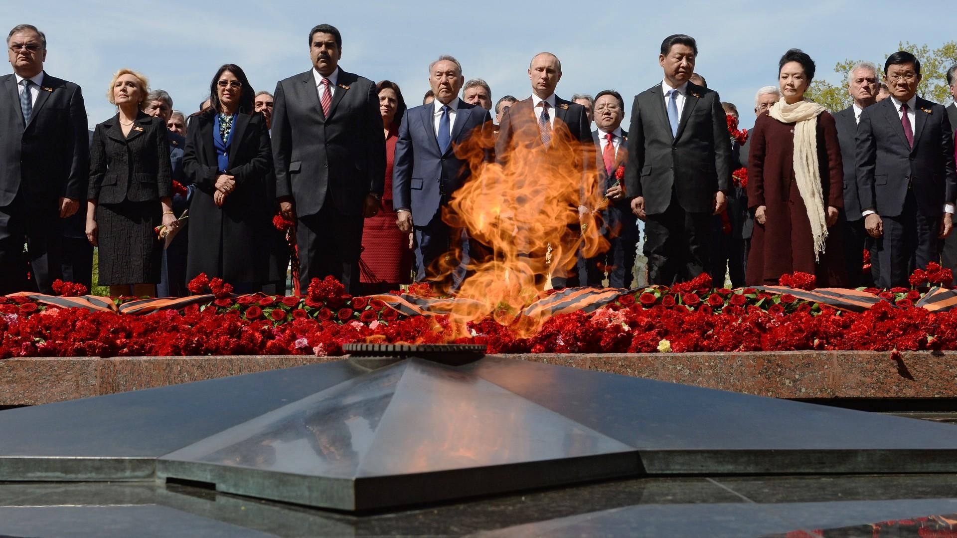 Les dirigeant mondiaux qui ont assisté à la parade du Jour de la Victoire