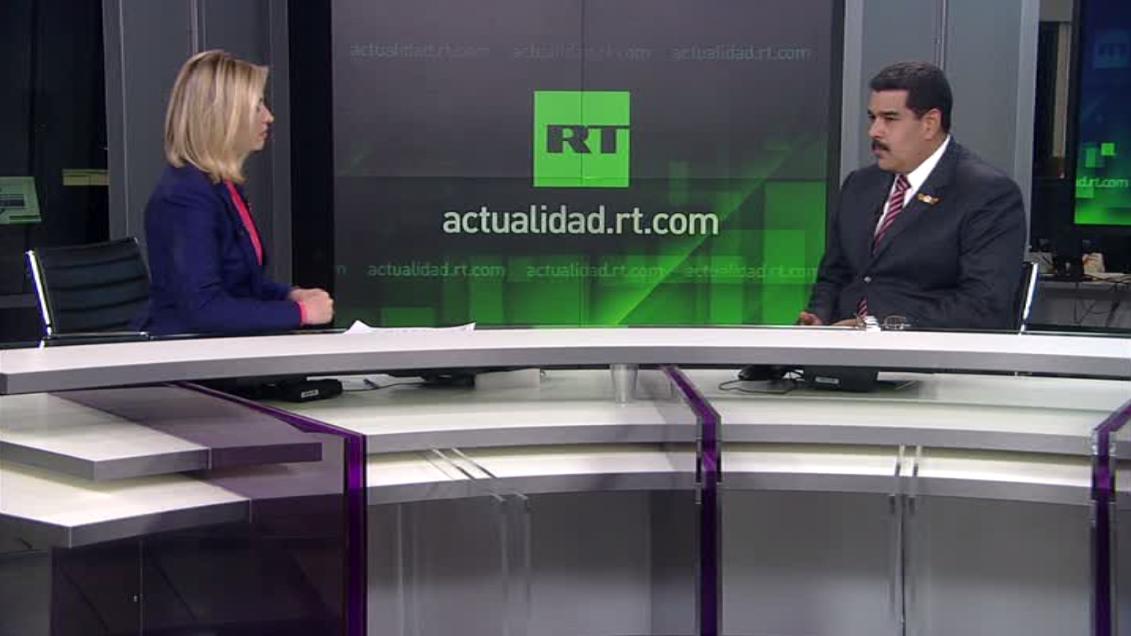 Nicolas Maduro à RT : l'agressivité des Etats-Unis va de pair avec leur perte d'influence